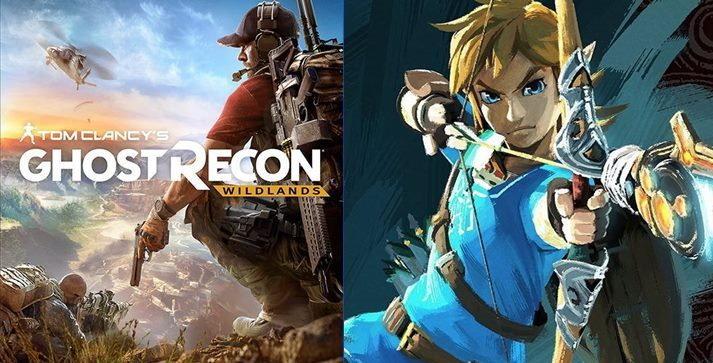 ยอดขายเกมอเมริกา Ghost Recon , Zelda ขายดีสุดส่วน Nintendo Switch ขายได้ 9 แสน