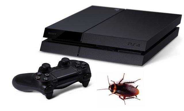 งานเข้าเมื่อ PS4 กลายเป็นที่อยู่ของแมลงสาบ !!