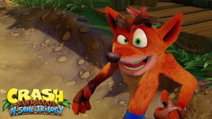 ชมคลิปเกมเพลย์ Crash Bandicoot ฉบับรีมาสเตอร์บน PS4