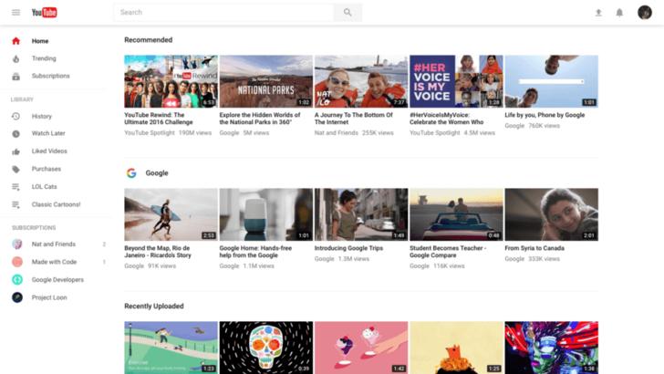 YouTube เปิดให้ผู้ใช้งานลองใช้หน้าเว็บดีไซน์ใหม่พร้อม Dark Mode!