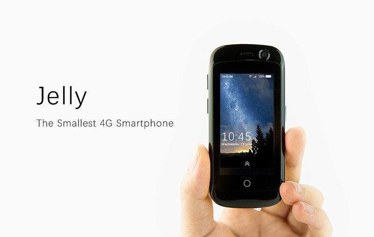 เคยเห็นมั้ย 'Jelly' สมาร์ทโฟน 4G ที่ไซส์เล็กที่สุด!