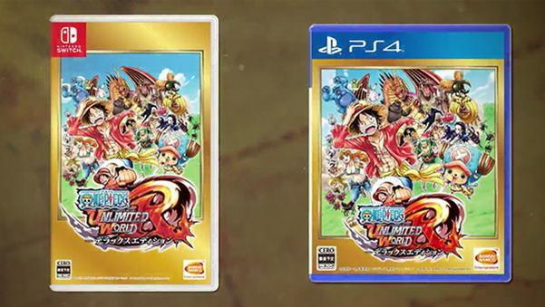 เกม One Piece Unlimited World Red บน PS4 และ Switch จะปรับภาพให้มีความละเอียดสูงขึ้น