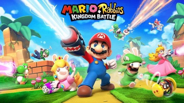 หลุดภาพแรกของเกม Mario ที่สร้างร่วมกับค่าย UbiSoft