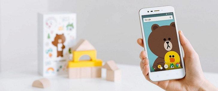 อยากได้บ้าง สมาร์ทโฟนหมีบราวน์จาก LINE เน้นให้เด็กใช้