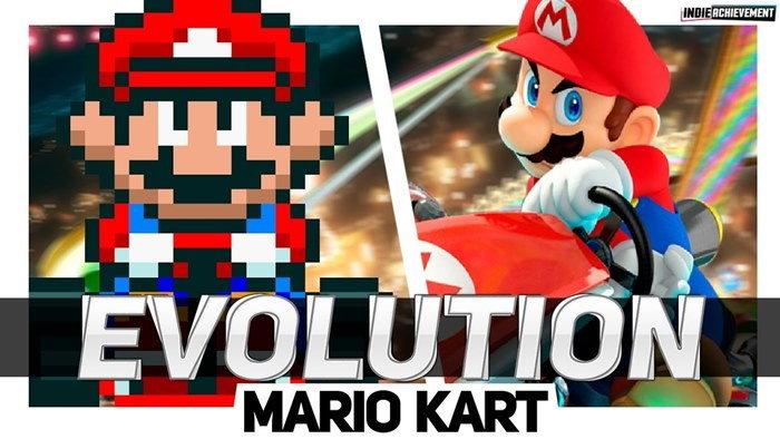 ชม วิวัฒนาการ ของเกม Mario Kart ตั้งแต่ภาคแรกถึงภาคล่าสุด