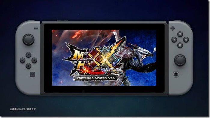 ชมคลิปโชว์การเล่นเกม Monster Hunter XX บน Nintendo Switch ด้วยกราฟิกระดับ HD
