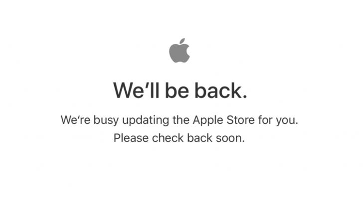 Apple Online Store ปิดให้บริการชั่วคราว คาดมีผลิตภัณฑ์ใหม่แน่นอน