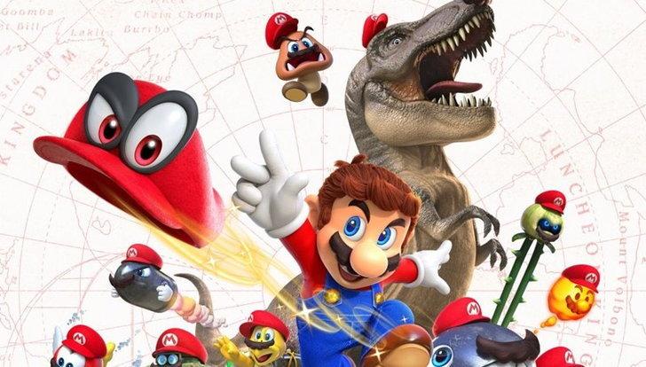 Super Mario Odyssey ได้รางวัล Game of Show จาก Web IGN