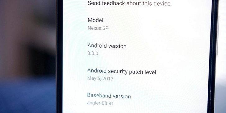 ยืนยันแล้ว Android O จะเป็น Android 80 ใน Android Developer Preview 3