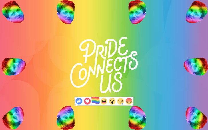 วิธีได้ Emoticon รุ้งง่าย ๆ แค่กด Like เพจเฟซบุ๊ค LGBTQ Facebook