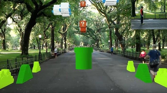 มาดูการเล่นเกม Super Mario แบบสมจริงด้วยแว่น Hololens ของไมโครซอฟท์