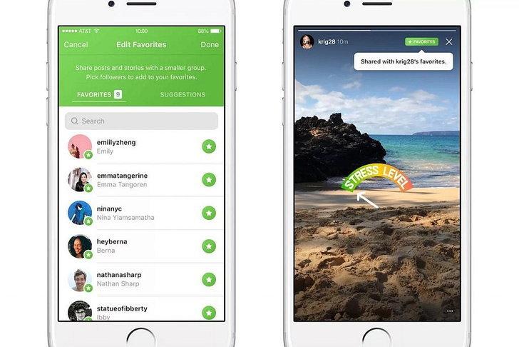 Instagram เริ่มทดสอบฟีเจอร์ Favourites เลือกแชร์โพสต์ให้เห็นได้เฉพาะกลุ่ม
