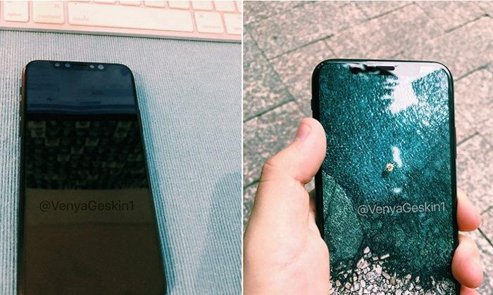 เชิญชม iPhone 8 เครื่องดัมมี่ ล่าสุด ที่อ้างอิงมาจากแหล่งข่าวใน Foxconn