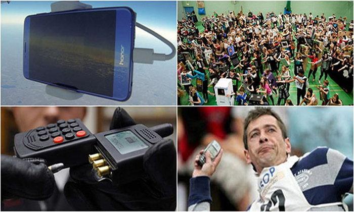 5 สถิติโลกแบบแปลกๆ เกี่ยวกับโทรศัพท์มือถือที่ถูกบันทึกไว้ใน Guinness Book