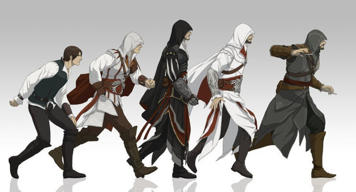 เกมนักฆ่า Assassins Creed จะกลายเป็นการ์ตูนอนิเมะ