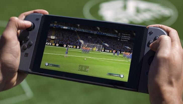 มาดูข้อมูลใหม่เกม FIFA 18 บน Nintendo Switch ที่ดูดีกว่าที่คาด