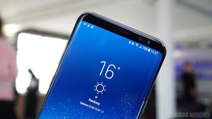 ข้อมูลเผย Galaxy S9 จะใช้หน้าจอ Infinity Display แบบเดียวกับ Galaxy S8
