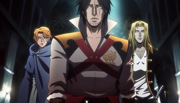 Castlevania ฉบับการ์ตูนซีรีส์อนิเมะทางช่อง Netflix ซีซั่น 2 จะมีตอนเพิ่มเป็น 2 เท่า