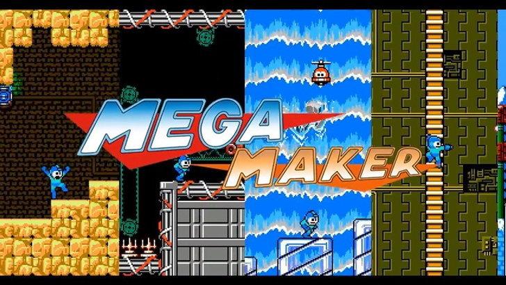 มาแล้วเกม Rockman Maker มาสร้างเกมหุ่นสีฟ้าในตำนาน ฉบับแฟนๆทำเอง