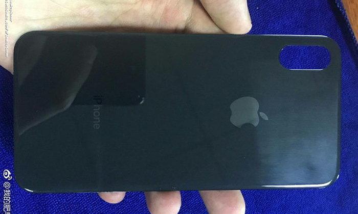 หลุดภาพฝาหลัง iPhone 8 หรือนี่จะเป็นของจริง