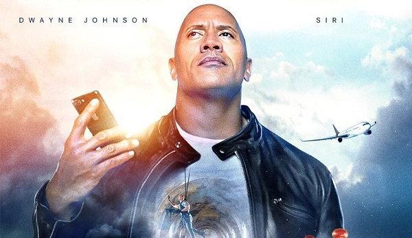 เดอะ ร็อค จับมือ Siri เปิดตัววิดีโอใหม่ The Rock x Siri Dominate the Day  เห็นแล้วอยากใช้เลย