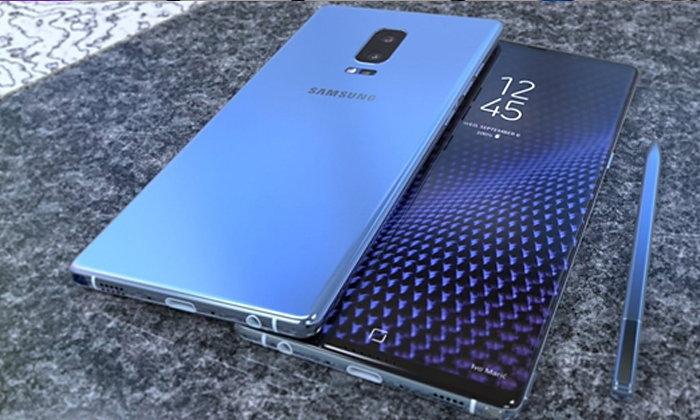 Samsung Galaxy Note 8 อาจจัดเต็มด้วย RAM 6GB พร้อมความจุไซส์ใหญ่ 256GB