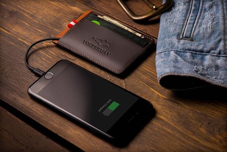 Volterman กระเป๋าเงินอัจฉริยะ จัดเต็มทั้งแบตสำรอง WiFi ฮอตสปอต GPS และกล้องจับขโมย