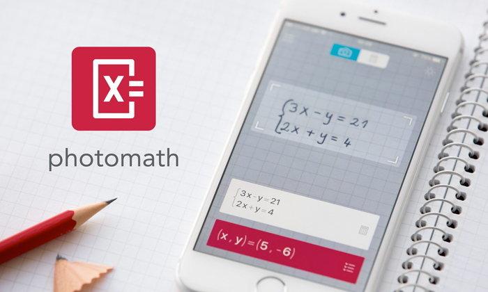 Photomath แอปแก้โจทย์คณิตที่ที่เด็กประถม