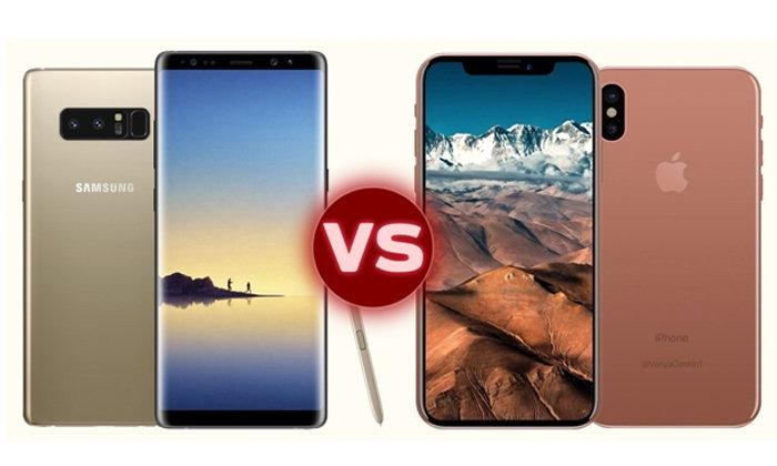 เทียบ Samsung Galaxy Note 8 vs iPhone 8 ศึกสมาร์ทโฟนหมายเลข 8 จากสองค่ายยักษ์ใหญ่