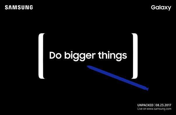 หลุดโบรชัวร์ Galaxy Note 8 เผยสเปกแบบหมดเปลือก ไม่ต้องรอเปิดตัว