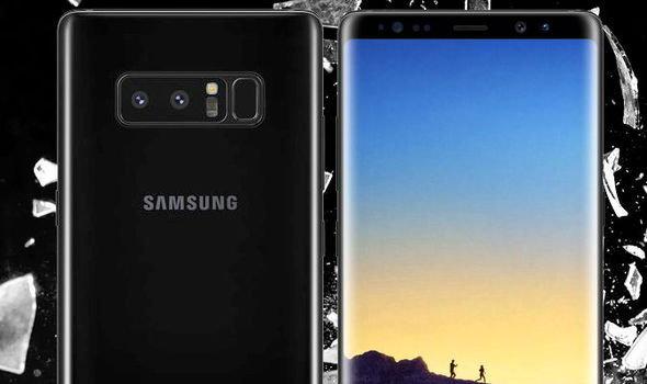 Samsung เผลอโชว์ Galaxy Note 8 บนเว็บไซต์ของตัวเอง