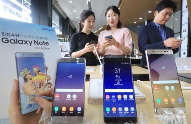 Samsung Galaxy Note FE เปิดตัวไม่ถึง 2 เดือน ขายหมดแล้ว 4 แสนเครื่อง
