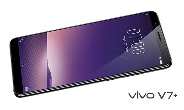 เปิดตัว Vivo V7+ สมาร์ทโฟนจอไร้ขอบ FullView Display รุ่นแรกของ Vivo