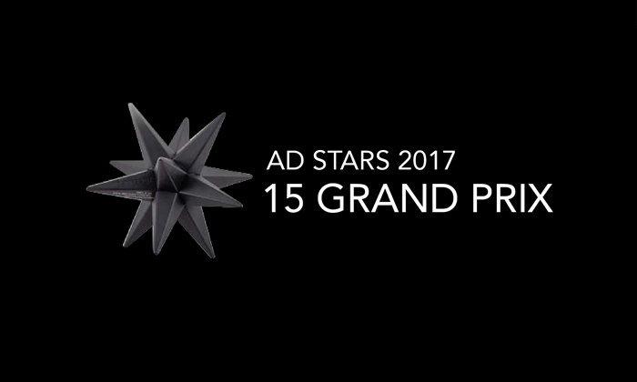 บริษัทโฆษณาไทย CJ WORX คว้า 1 ใน 15 รางวัล GRAND PRIX