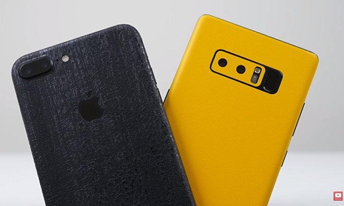 เปรียบเทียบภาพถ่ายช็อตต่อช็อตระหว่าง Samsung Galaxy Note 8 และ iPhone 7 Plus