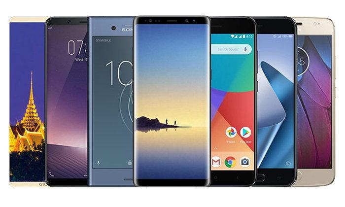 11 สมาร์ทโฟนรุ่นใหม่จากแบรนด์ดัง ที่เตรียมวางขายในไทยภายในปีนี้ พร้อมฟีเจอร์ระดับท็อปแบบจัดเต็ม
