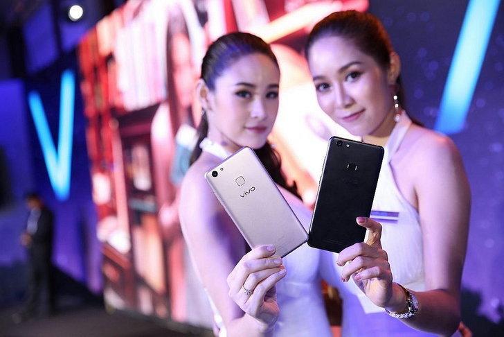 เปิดตัว Vivo V7+ สมาร์ทโฟนขอบบาง กล้องหน้า 24 ล้าน ราคา 11,990 บาท