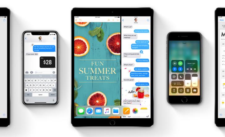 Apple ประกาศปล่อยอัปเดต iOS 11 ตัวเต็มวันที่ 19 กันยายนนี้