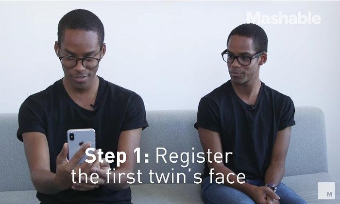 ชมการทดสอบ Face ID บน iPhone X จะสามารถแยกใบหน้าของฝาแฝดได้หรือไม่