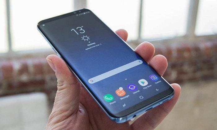 """Samsung จดสิทธิบัตร  """"สแกนฝ่ามือ"""" สำหรับคนที่ลืมพาสเวิร์ด"""