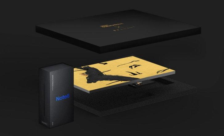 "Samsung เปิดตัว Galaxy Note 8 รุ่นพิเศษ ราคา ""แพงกว่า"" iPhone X ถึง 2 เท่า"