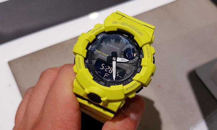 [เก็บตก] CES 2018 : Casio อัปเกรด G-Shock ให้เป็นนาฬิกาเพื่อสุขภาพ คู่กับความทนทาน