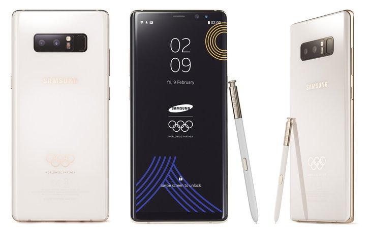 ยลโฉม Samsung Galaxy Note 8 เวอร์ชันพิเศษสุดคูลรับโอลิมปิกฤดูหนาว
