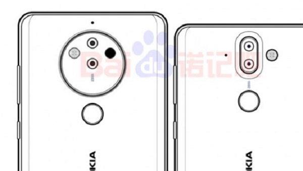 หลุดภาพร่างล่าสุดของ Nokia 10  กล้องหลัง 5 ตัว ชิป Snapdragon 845