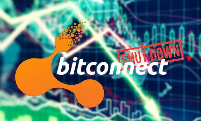 สะเทือนวงการคริปโต Bitconnect ประกาศปิดตัวแล้ว ราคาเหรียญ BCC ร่วงกว่า 90%