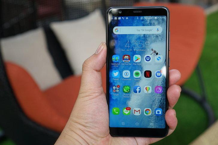 รีวิว Asus Zenfone Max Plus สมาร์ทโฟนกล้องคู่ จอยาว ราคาอย่างถูก