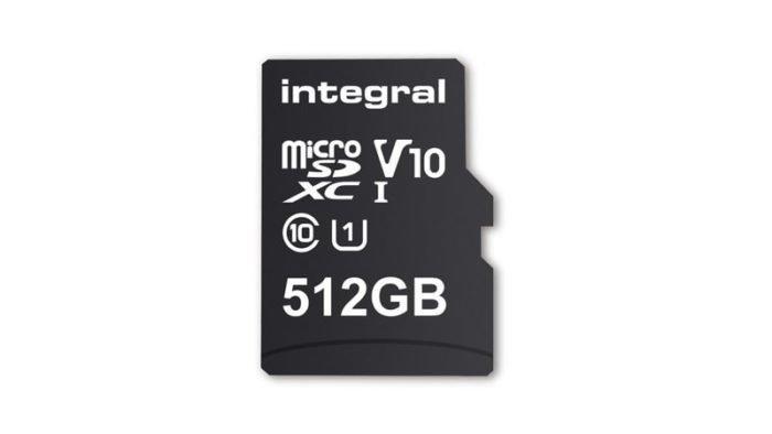 เปิดตัว ไมโคร SD ความจุ 512GB วางขายกุมภาพันธ์ นี้