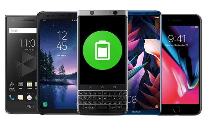 รวม 5 สมาร์ทโฟนแบตอึดช่วงต้นปี 2018 รุ่นไหนใช้งานได้ยาวนานที่สุด มาดูกัน!