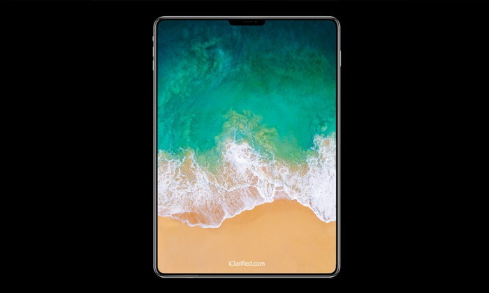 iPad Pro รุ่นใหม่อาจมีหน้าจอไร้ขอบพร้อม Face ID และไร้ปุ่ม Home!