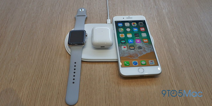 Apple ทำเซอร์ไพรส์จ่อเปิดตัวแท่นชาร์จไร้สาย AirPower เดือนหน้า